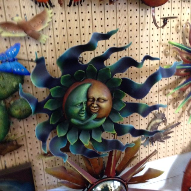 Metal Art From Mexico At Del Sol Native American