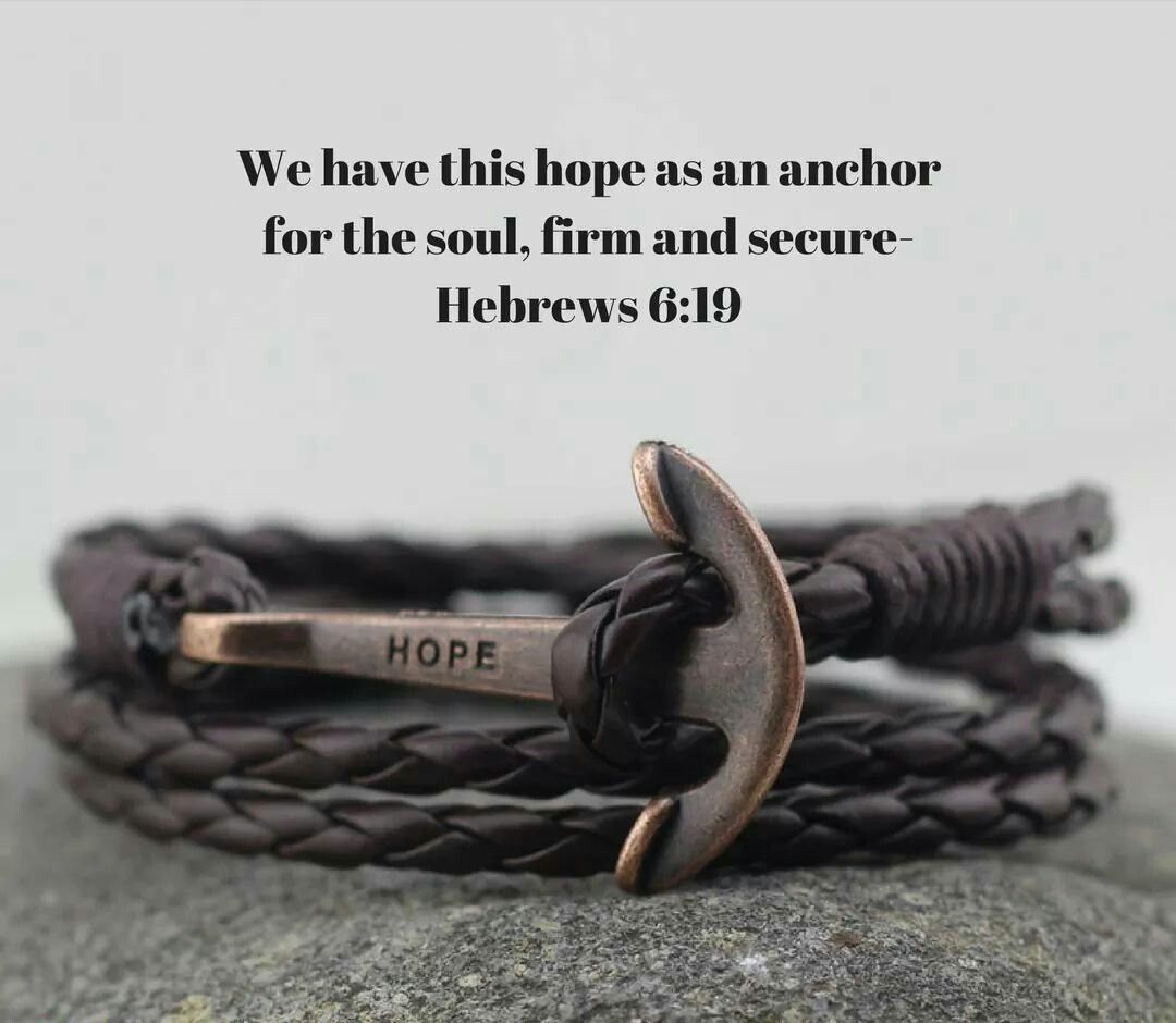 Hope Anchor, Anchor Bracelets, Bible Verses, Scripture Quotes, Faith,  Japanese, Jewelry Stamping, English, Christian Jewelry