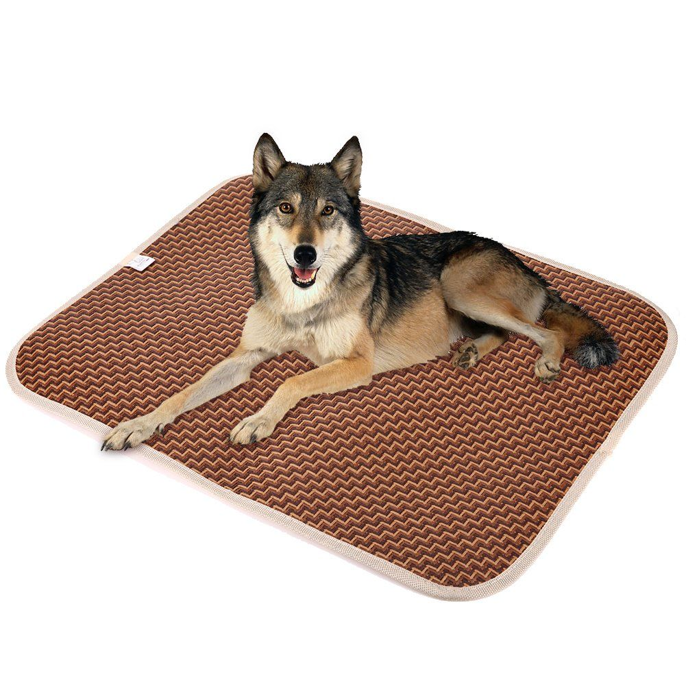 Awakingdemi Cooling Pet Pads Pet Food Matsummer Pet Dog Cat Cooling Mat Rattan Mattress Pet Dog Cat Cushion Bed 16 Dog Cooling Mat Pet Cooling Mat Dog Beds Uk