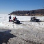 Put-in-Bay Island Blog from @Miller Ferries to Put-in-Bay & Middle Bass #freetheferries Winter, 2014. Island activities with a frozen Lake Erie.