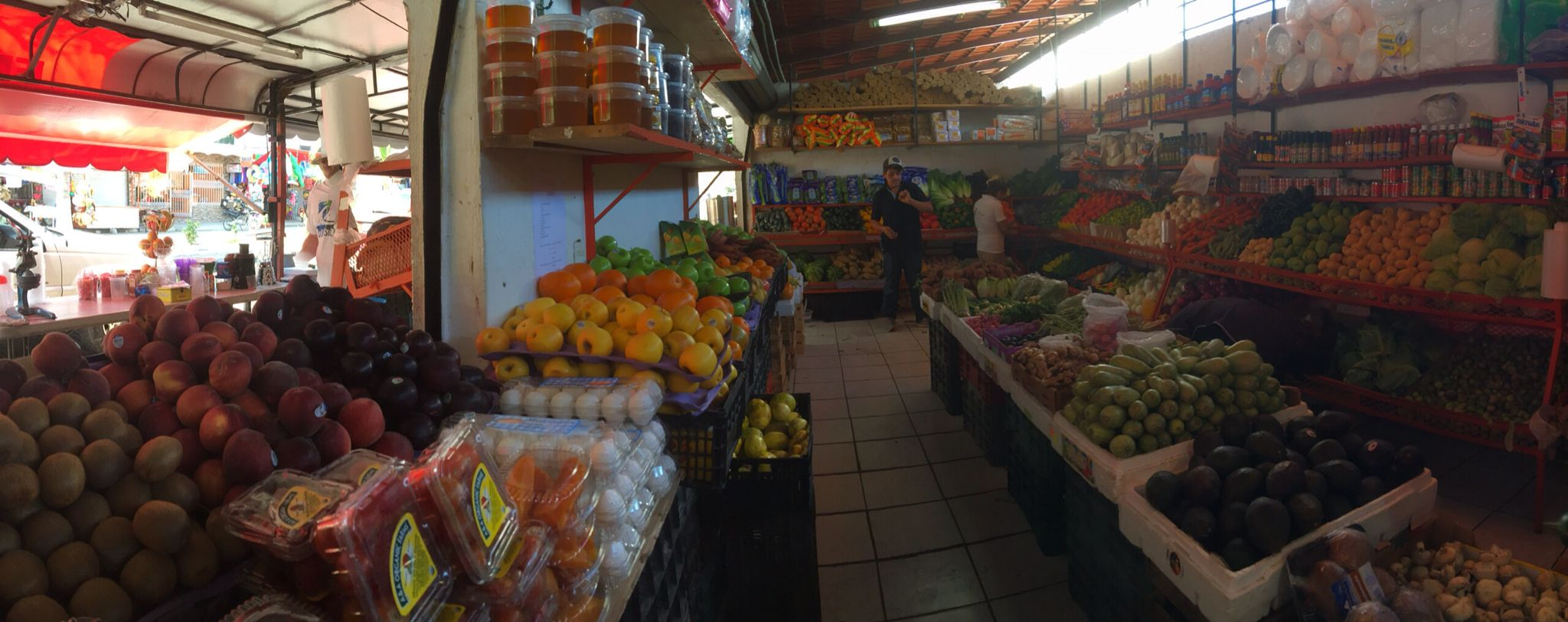 Favorite fruiteria in Guayabitos:)...and don't forget the freshly squeezed orange juice:)