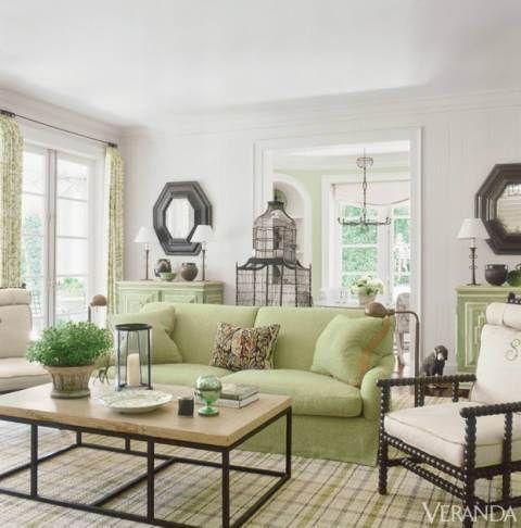 Green Rule Of Thumb Green Sofa Living Room Green Couch Living Room Light Living Room Colors Green sofa living room decor