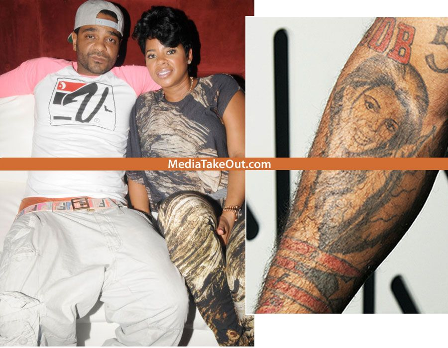 Rapper With Z Tattoed On His Face: TRUE LOVE: Rapper Jim Jones Tattoos HIS FIANCE CHRISSY'S