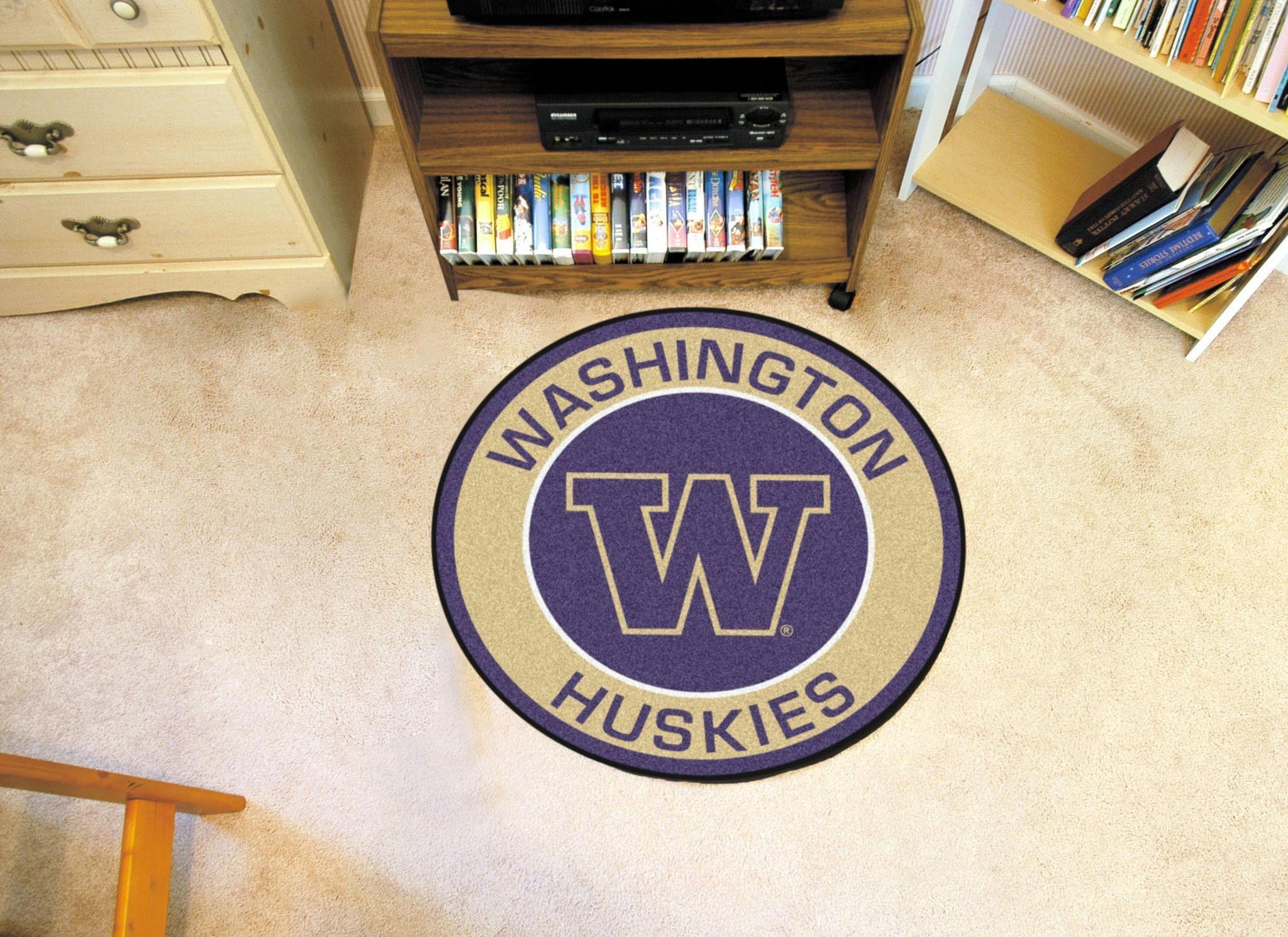University of Washington Roundel Mat