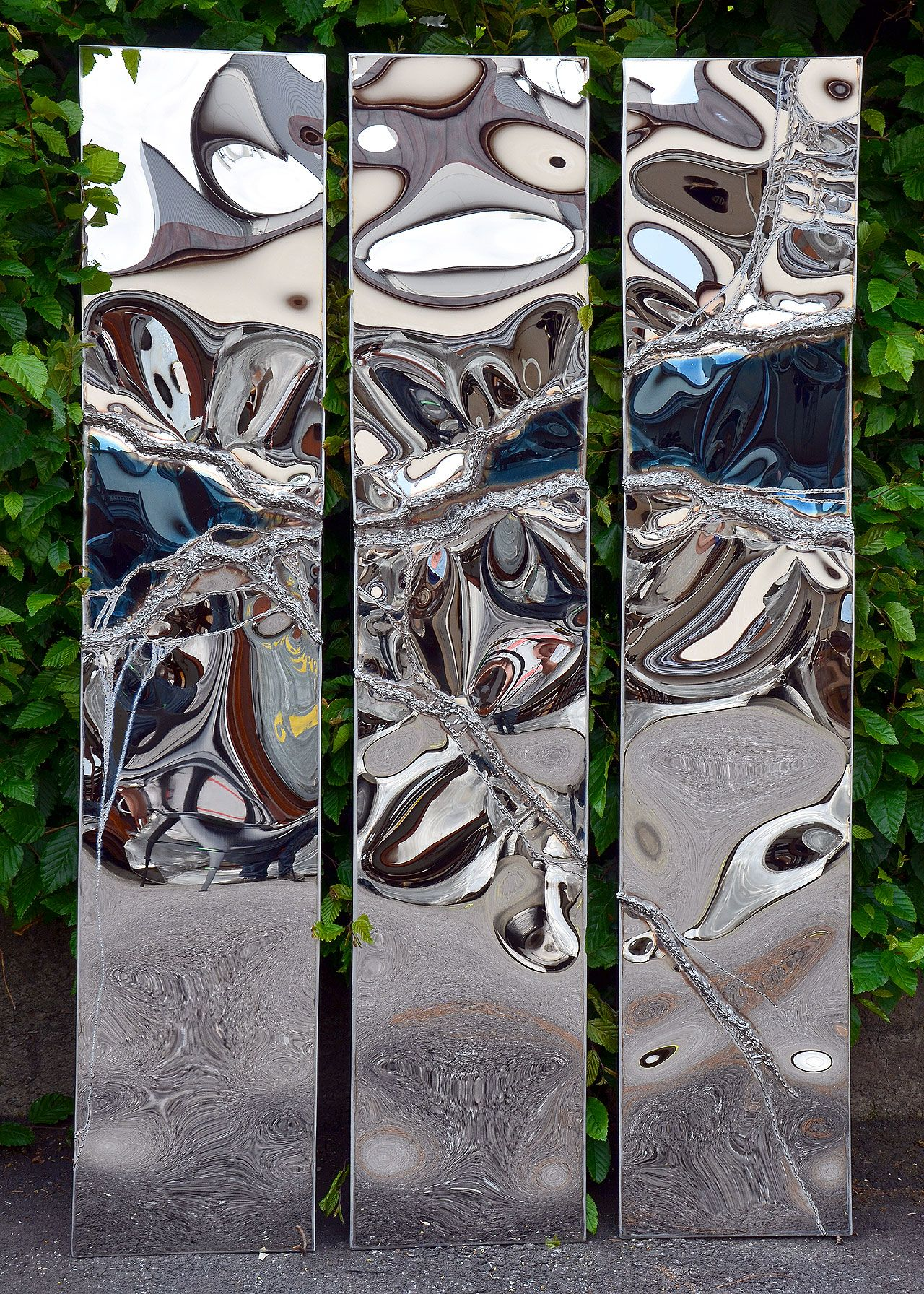 Polished Stainless Steel Art Stainless Steel Art Stainless Steel Wall Art Steel Art