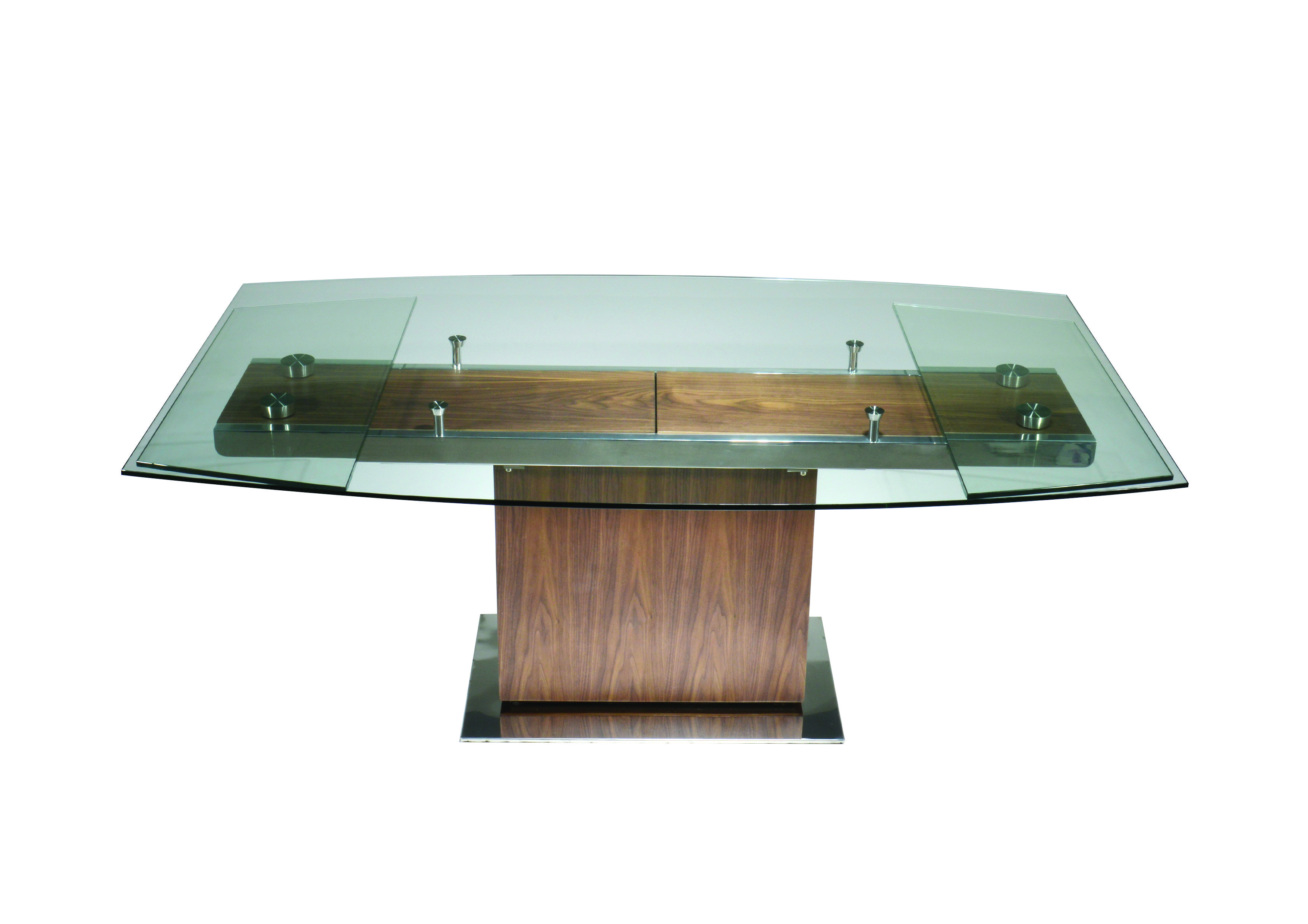 Beautiful Dining Table by Kube Furniture. The Mercurio opens up to ...
