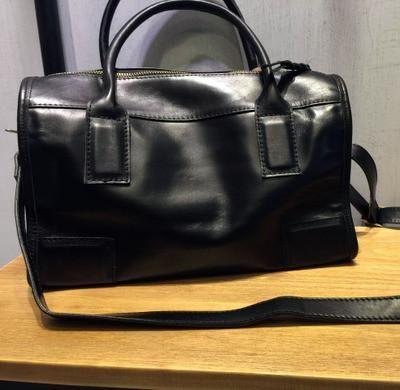Vendange Original design Handmade head layer cowhide Barrel-shaped portable Female leather bag / shoulder bag /messenger bag2286