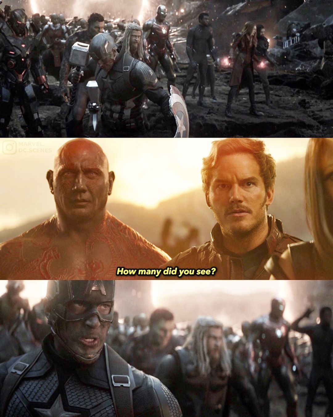 What Do You Think Is Better Movie Infinity War Or EndGame