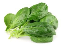 Spinach is high in folic acid which help you feel happier. Try it sometime!