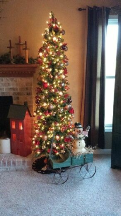 Pin By Cindy Gonzales On Christmas Trees Pencil Christmas Tree Christmas Tree Slim Christmas Tree