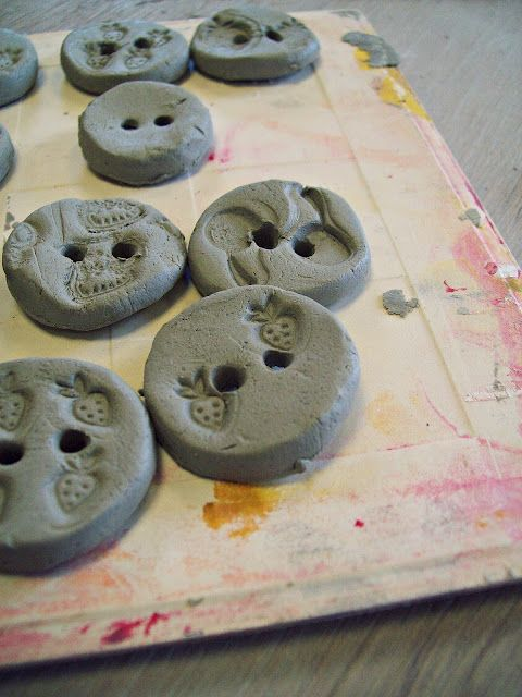 make your own ceramic buttons