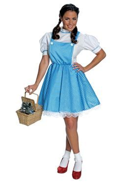 e97faacd76d72 Adult Wizard of Oz Dorothy Costume by Fancy Dress Ball   Halloween ...