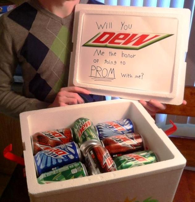Proposal Ideas That Will Make Her Cry: Ask To Dance With Mountain Dew