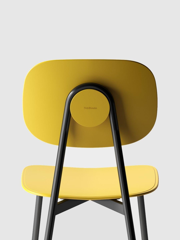 TATA - Open back technopolymer chair. Design by Arter&Citton.
