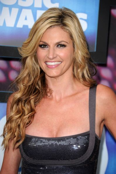 Erin Andrews! So pretty, too bad she's probably banged enough football players to earn a killing from Sean Payton's bounties.