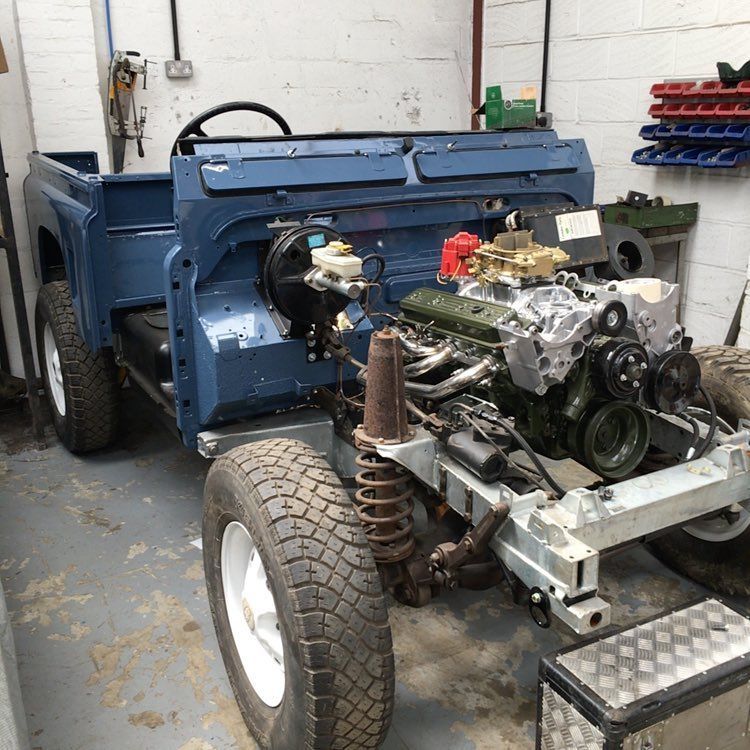Andy Budden Di Instagram Rebuild Of 1988 Land Rover Defender 90 Well Underway For Client Numerous Upgrades I Land Rover Defender Land Rover Land Rover Series