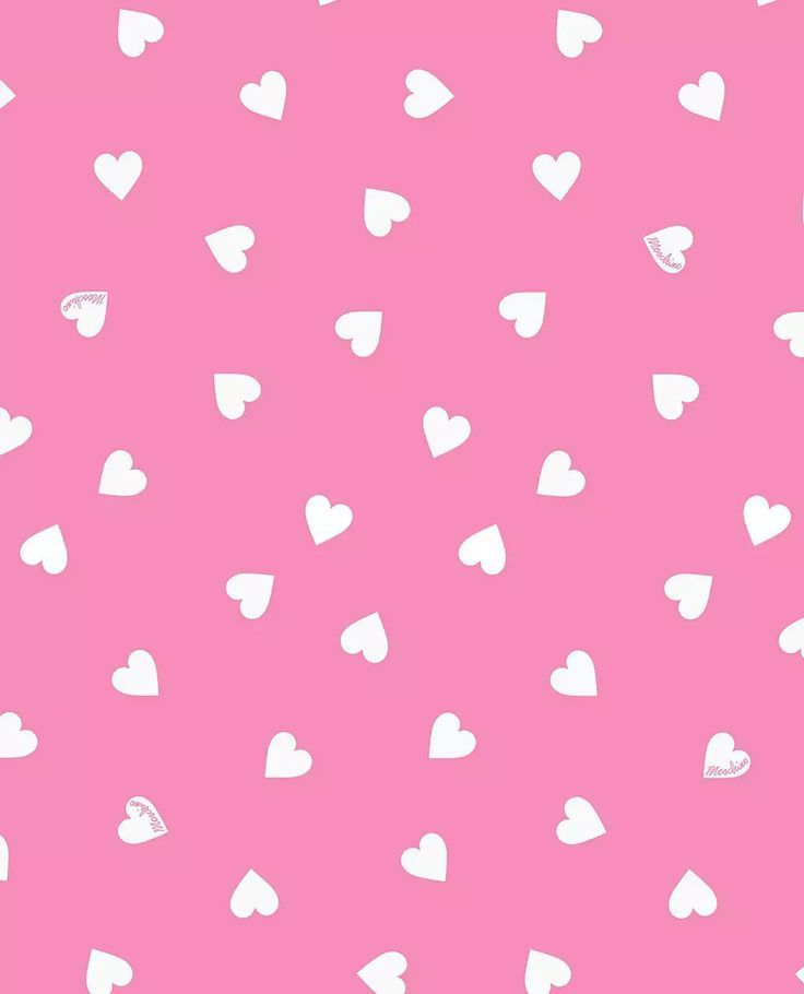 Moschino love heart pink on We Heart It   Download Wallpaper ...