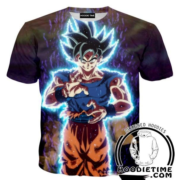 29b9f117 Dragon Ball Super Hoodies - Ultra Instinct Goku Hoodie - DBZ Clothes ...