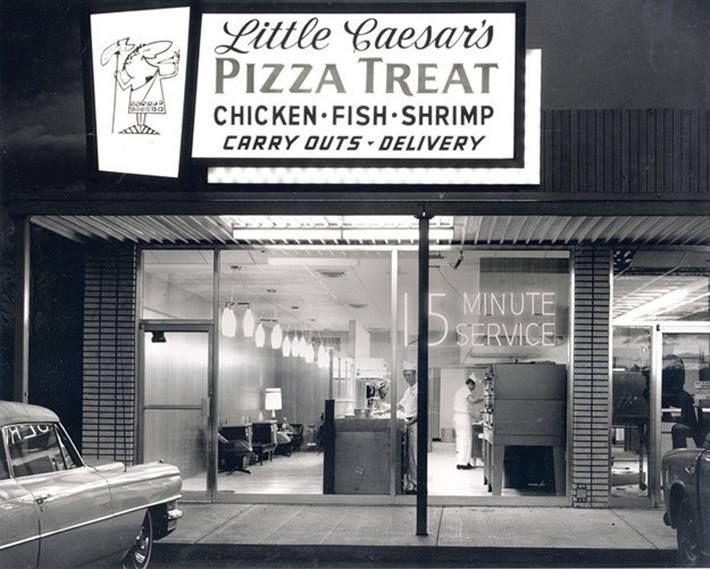 First Little Caesar 39 S Pizza Garden City Michigan 1959 Old Buildings Other Pinterest