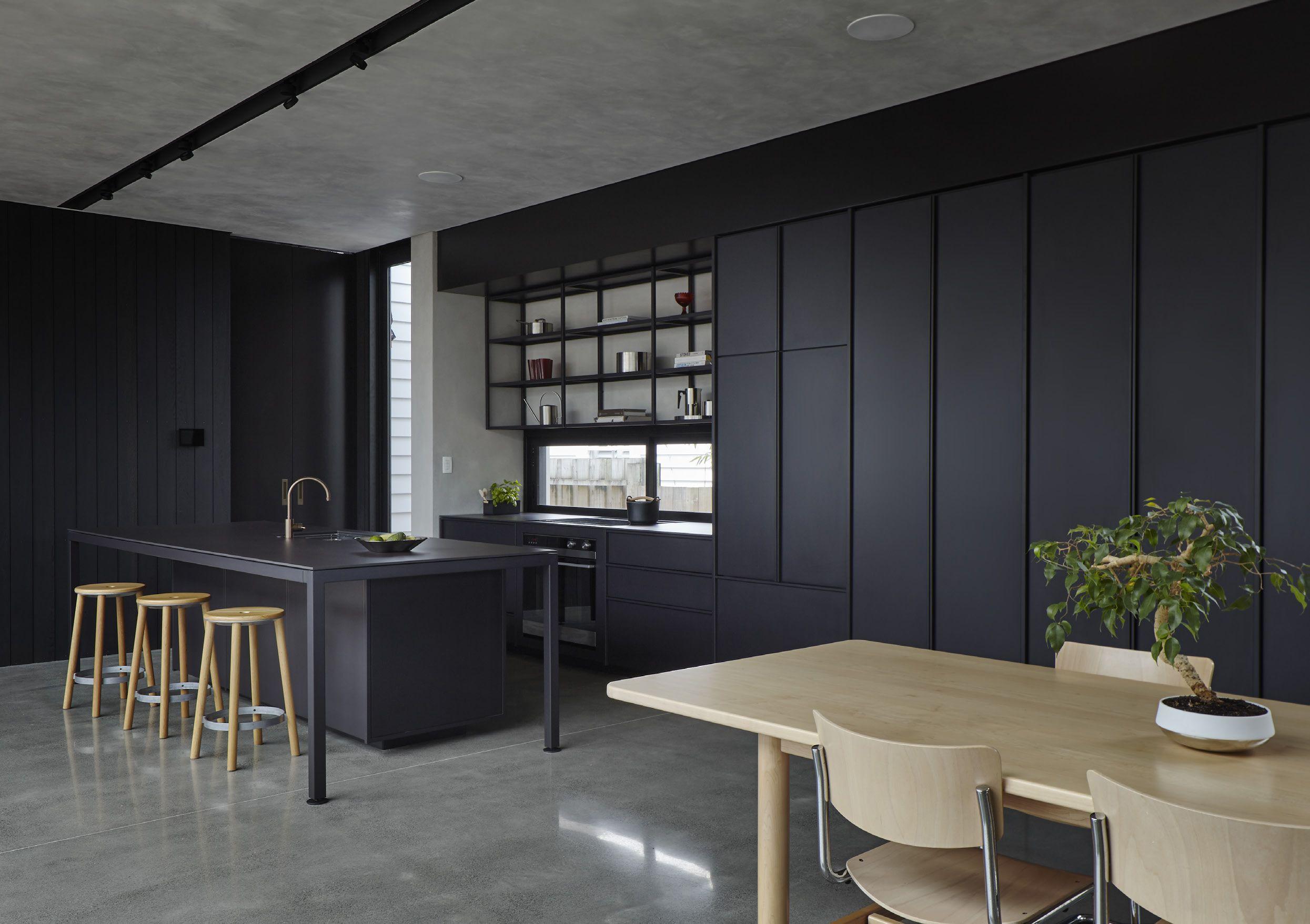 IMO KXN® Steel Kitchen Studio John Irving House Beach