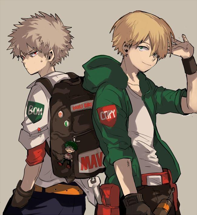 Bakugou and Neito