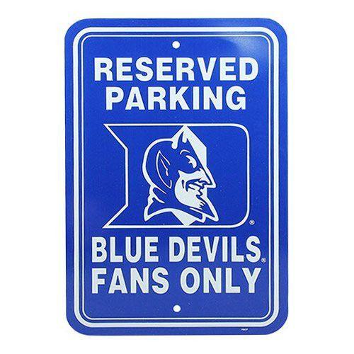 4a3d54f7878 Duke Parking Sign 12X18