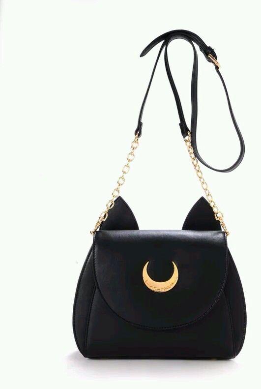 Seifuku Sailor Moon Luna Artemis Bag