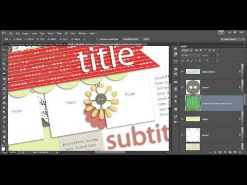 How To Use The Ruler Tool To Rotate Objects So They Align With Shapes On Your Templates Scrapbook Tutorial Digital Scrapbooking Tutorials Digital Scrapbooking