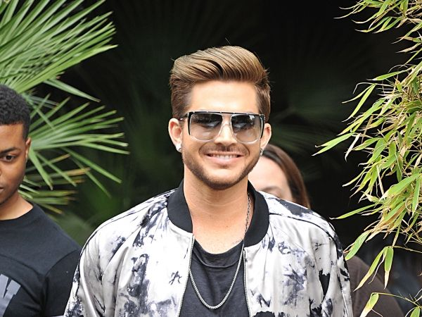 Just Because Adam Lambert Looks Pretty While Busily Promoting