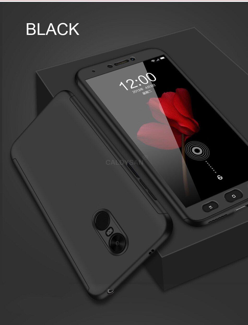 Luxury 360 Full Protective Case Cover For Xiaomi Redmi 5 Plus 4x Note 4x 5a Phone Case For Xiaomi Redmi 6 Pro 6a Shockproof Case Protective Cases Phone Cases Phone Cases Protective