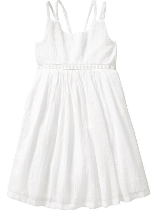 Crinkle-Gauze Dresses for Baby