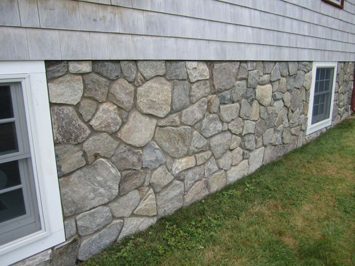 Stone Veneer Transforms Concrete Foundation Dream Home