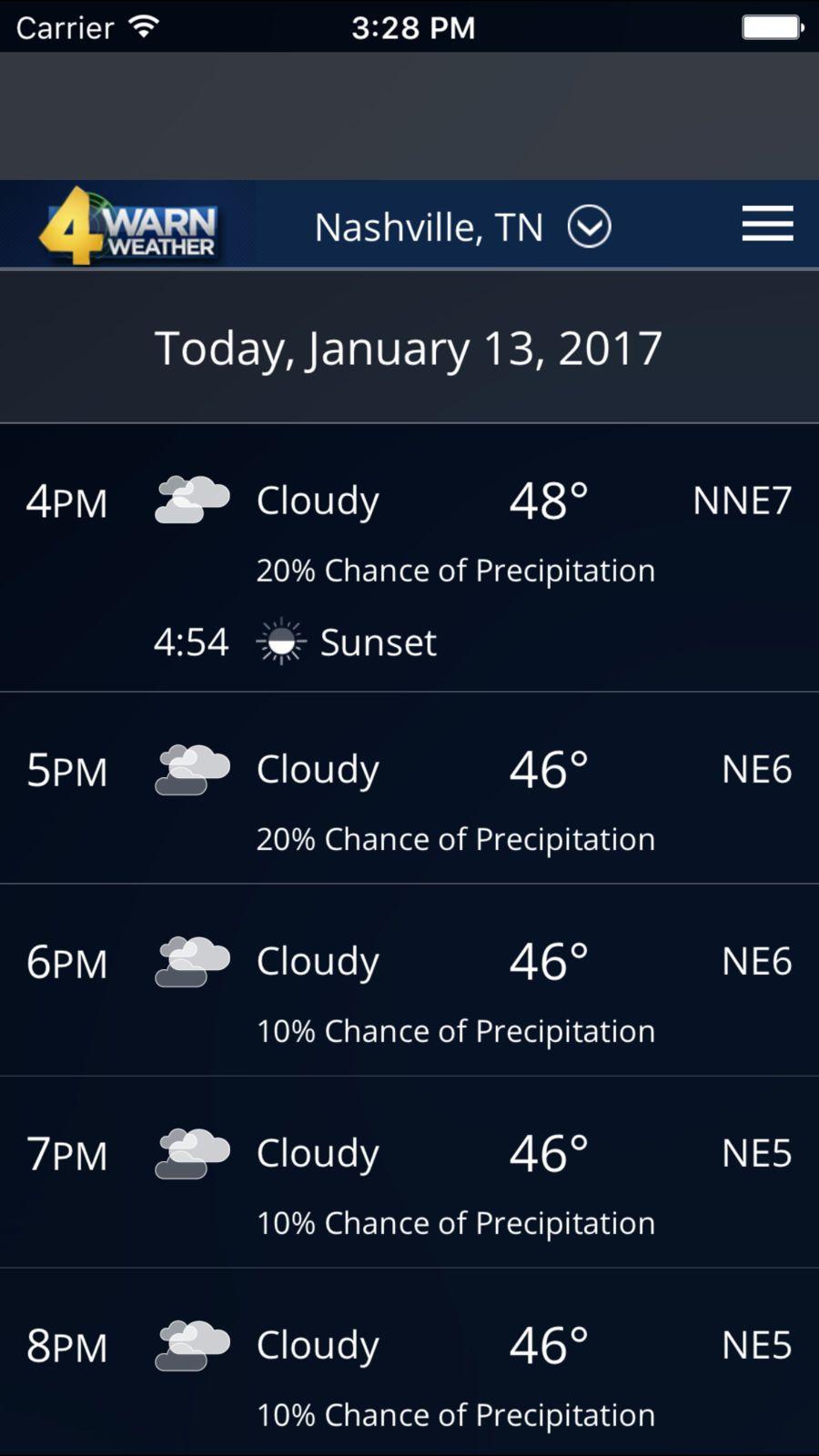 Wx Weather App