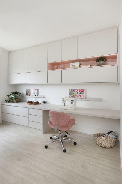 Apartamento feminino, clássico e com ateliê de costura