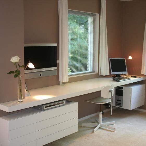 despacho muebles blancos maek meubels keukens home d cor home office and craft room. Black Bedroom Furniture Sets. Home Design Ideas