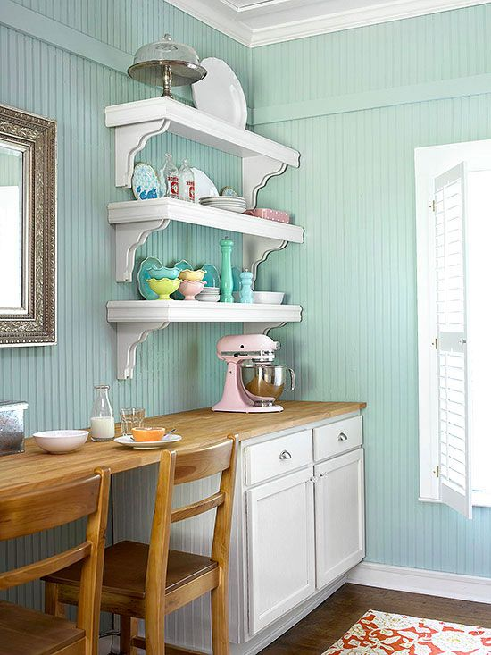 Feel Free To Use Beaded Board Liberally In A Cottage Kitchen To Add An Unexpected Twist By Installing Beaded Board Horizontally