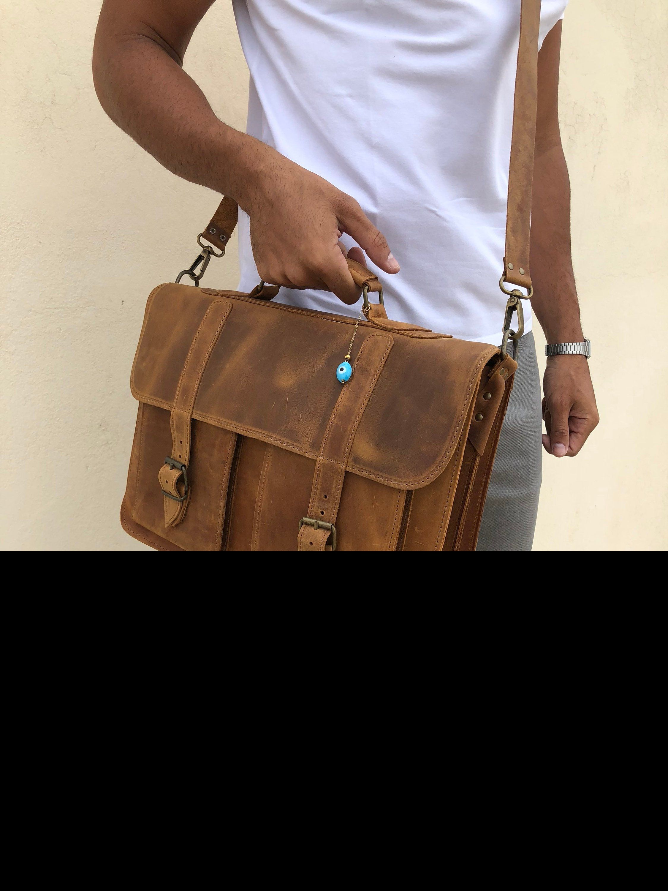b439f3cfde Excited to share the latest addition to my  etsy shop  Brown Leather  Messenger Bag