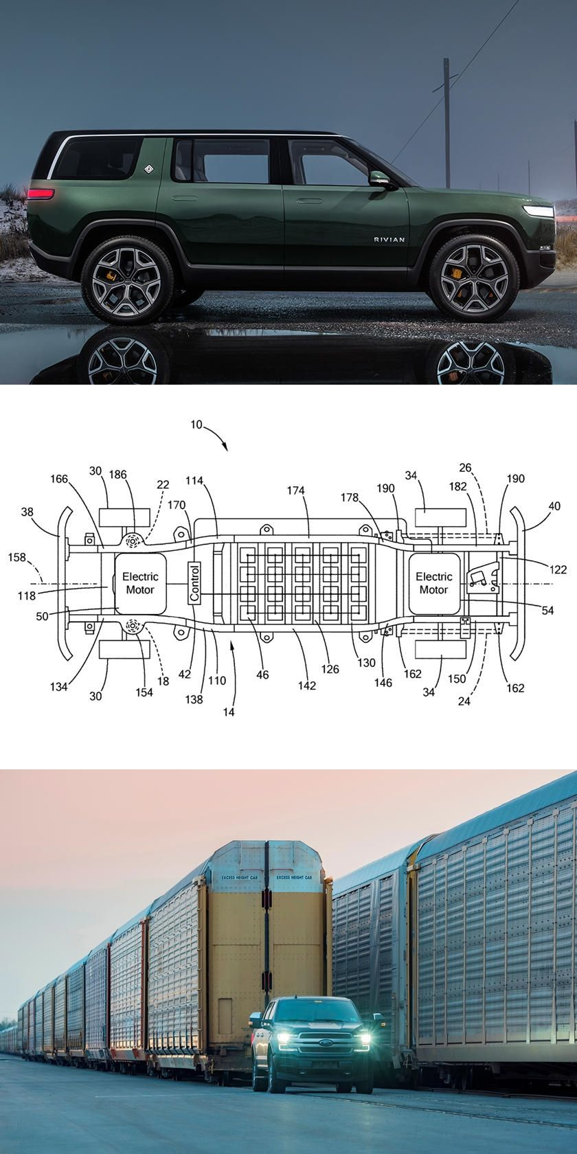 Electric Ford F150 Patent Reveals TeslaFighting Tech