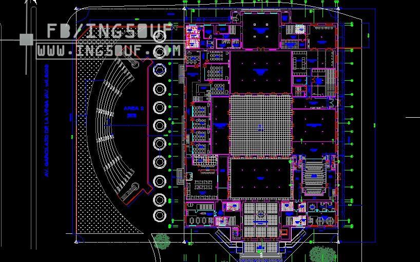 مخططات معمارية متحف بتصميم كلاسيكي اوتوكاد Dwg مخططات معمارية متحف بتصميم كلاسيكي اوتوكاد Dwg مخططات مع Autocad Music Instruments Audio Mixer