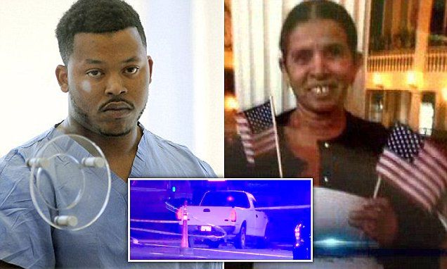 MASSACHUSETTS MOSES ACLOQUE     convicted of  running over Hotel worker KANCHANBEN PATEL and dragging her body 3 MILES  | Daily Mail Online