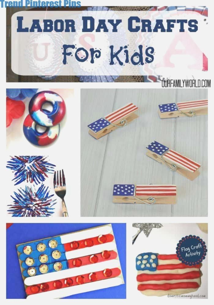 Fun Patriotic Labor Day Crafts for Kids #laborday #labordaycraftsforkids Fun Patriotic Labor Day Crafts for Kids #laborday #labordaycraftsforkids