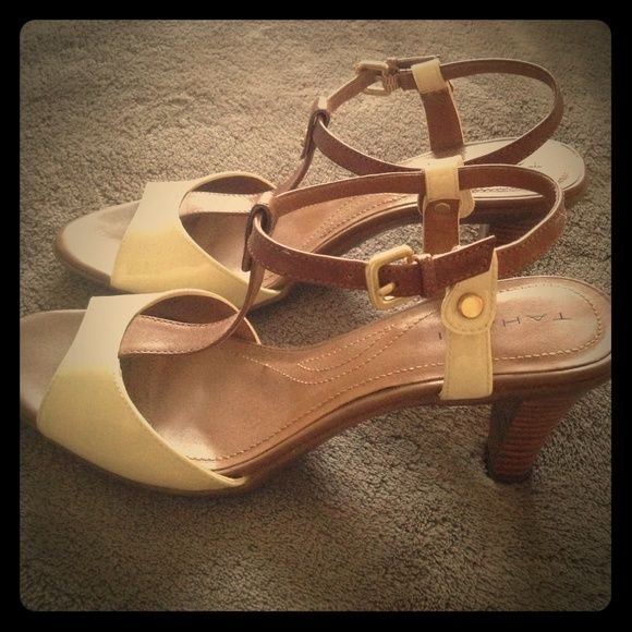 NWOT Tahari Heels These heels are perfect for spring and summer! Tahari Shoes Heels