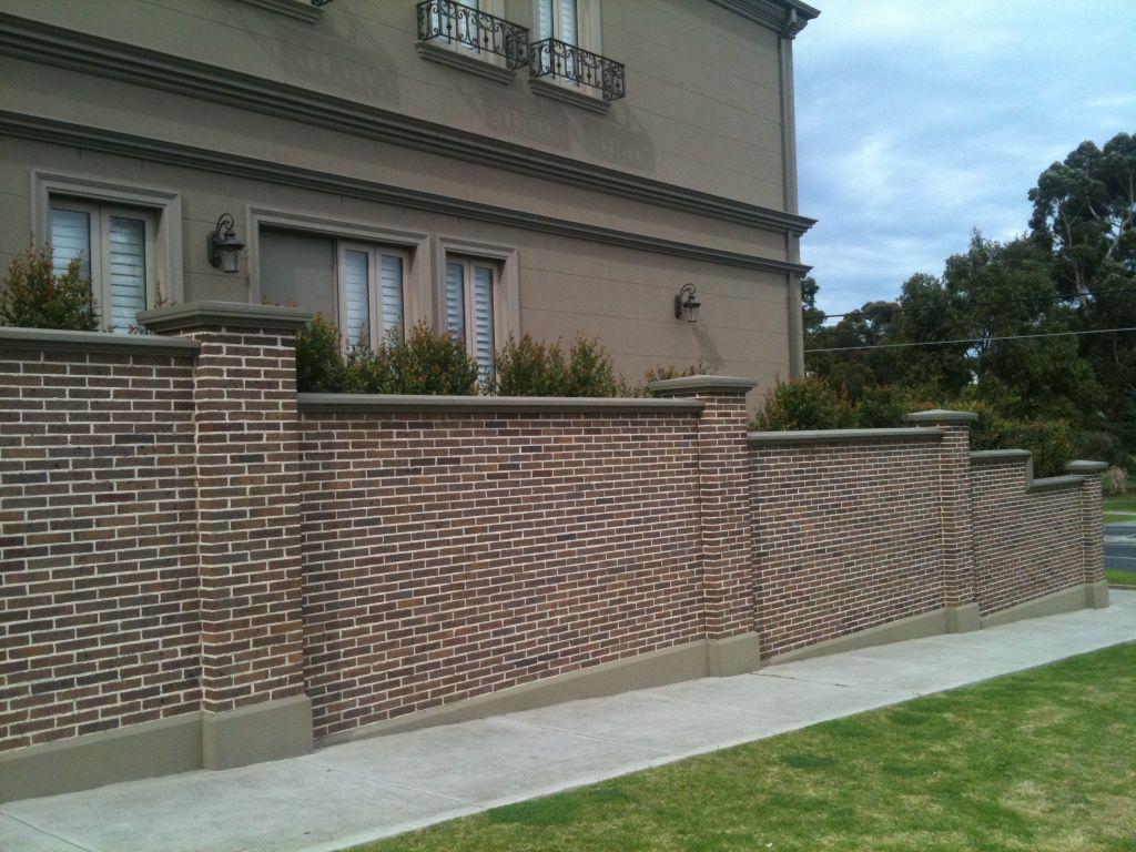 Brick Fence Designs Pictures Best Idea Garden For Sizing 1024 X 768 Fence Design Brick Fence Backyard Fences