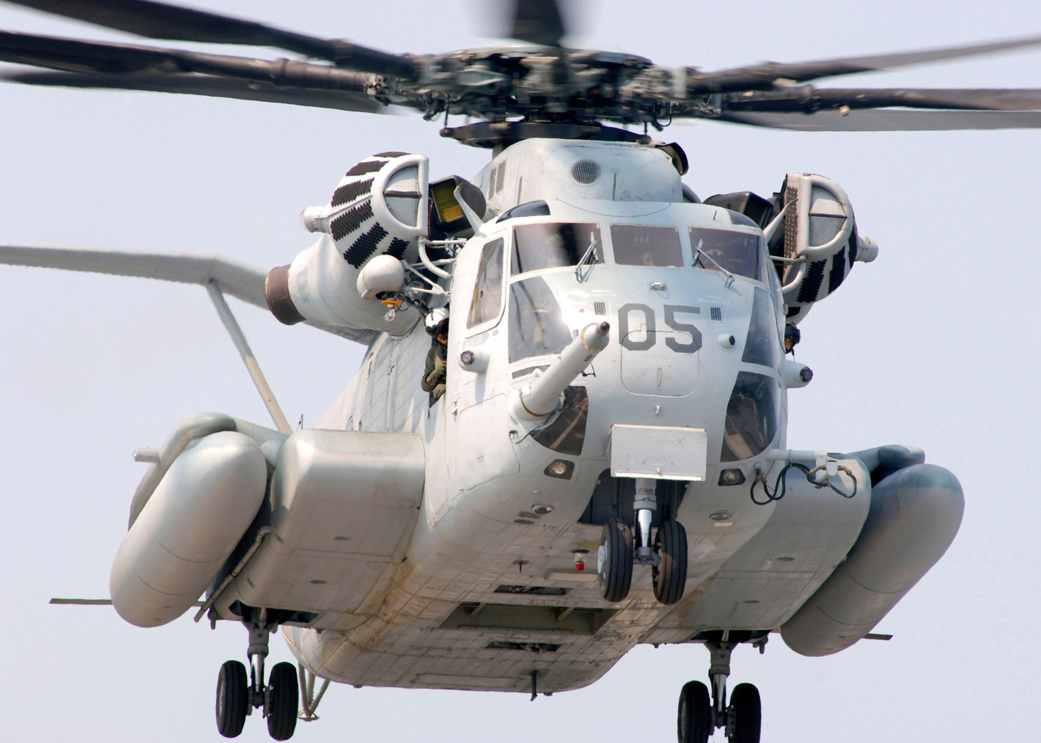 Helicopter, Ch-53e Super Stallion, United States Marine Corps   HQ ...