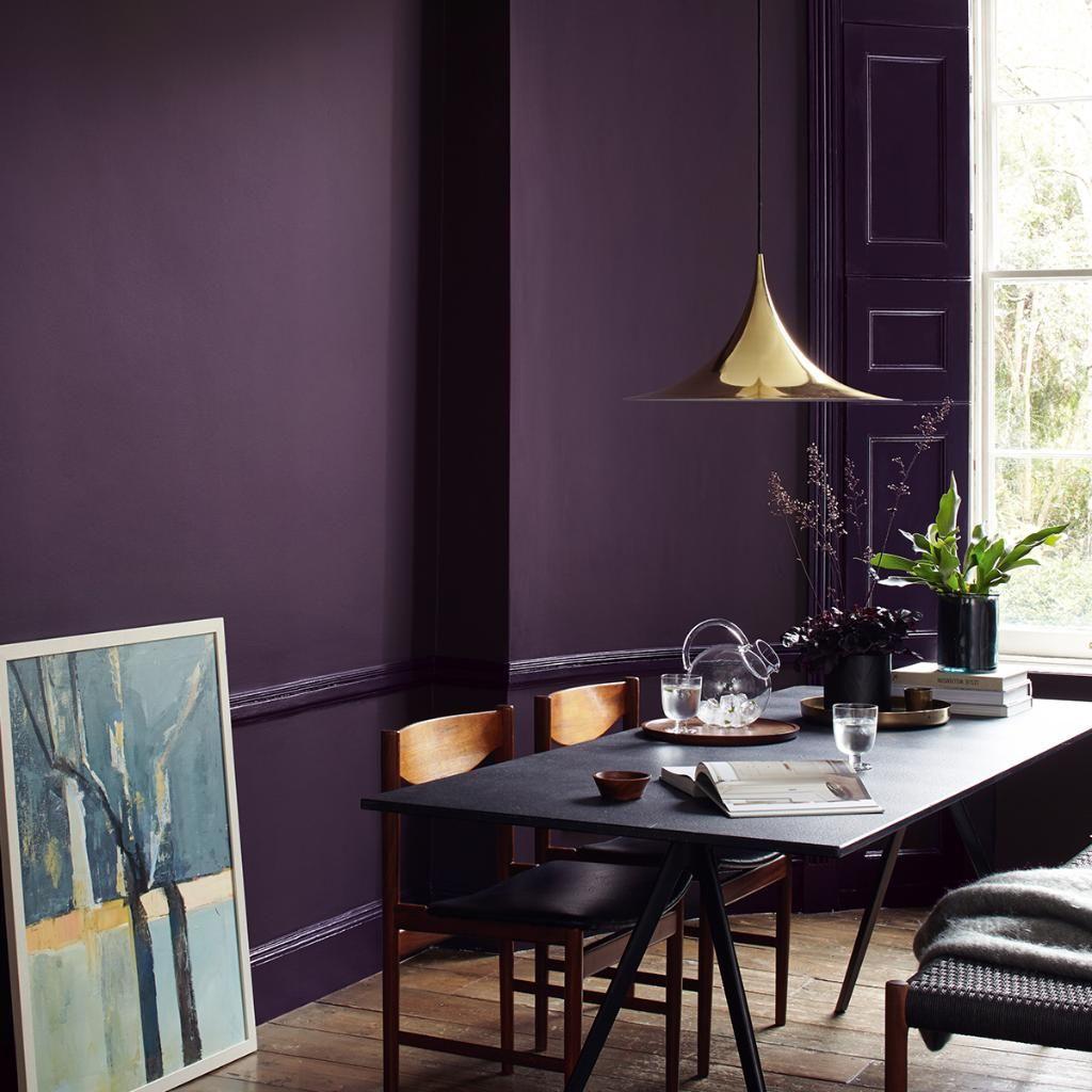 Épinglé par Saynobel ThGn sur Salon   Deco violet, Deco ...