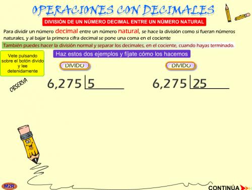 División Con Decimales Aula Pt Divisiones Con Decimales Decimal Divisiones Matematicas
