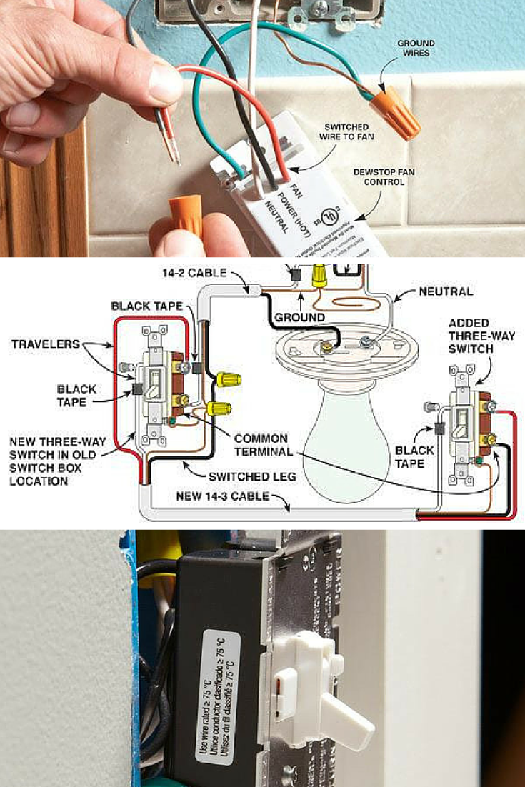 Wiring Switches Diy Pinterest Wire Electrical And Three Switch Learn How To Replace Dimmers With Tips Work