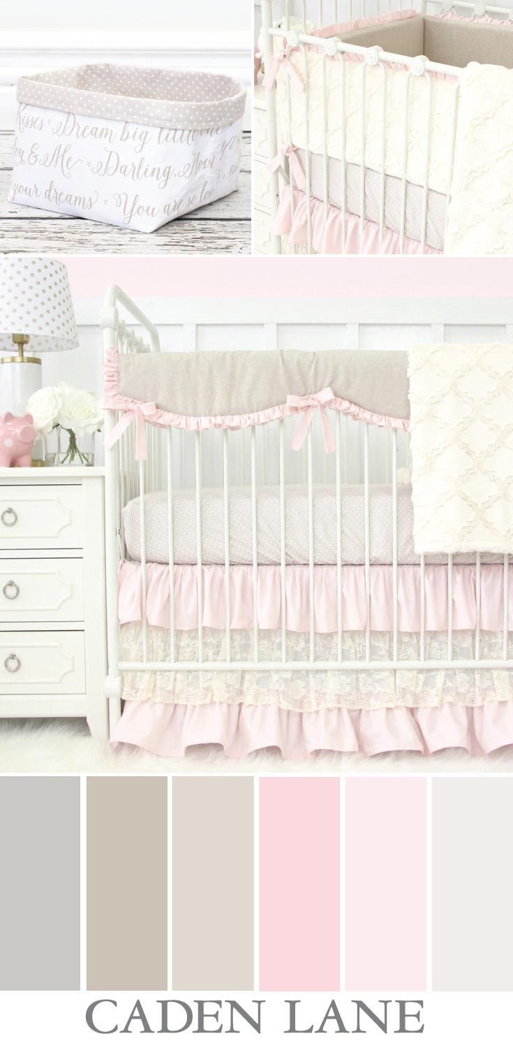 Love This Color Palette For A Baby Girl S Nursery Soft And Sweet