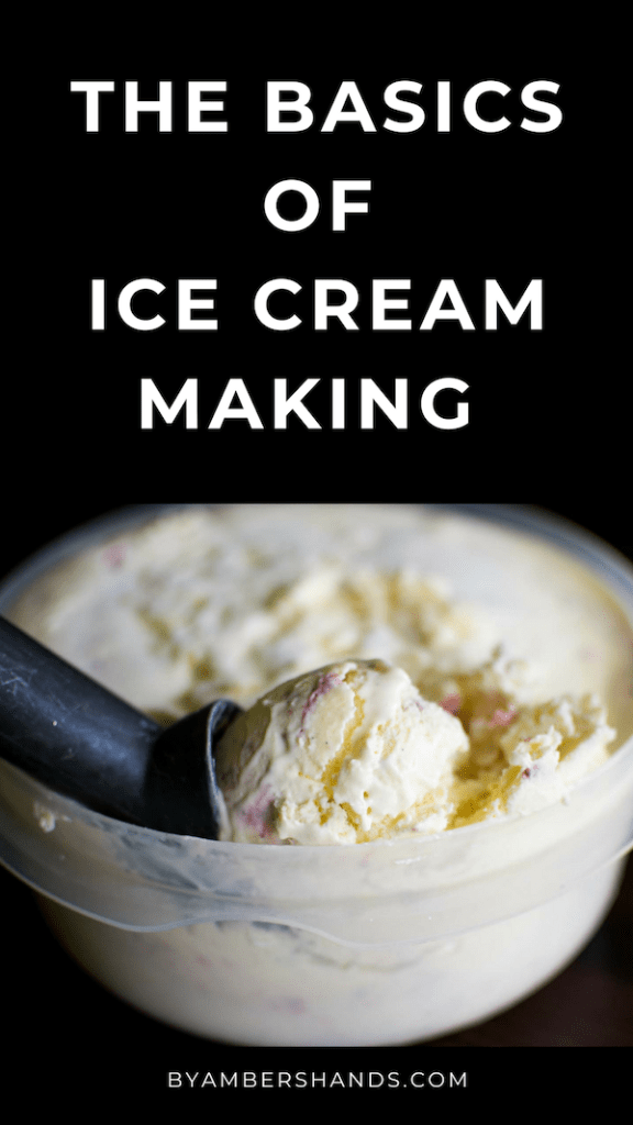 Homemade Ice Cream Basics: All You Ever Wanted To Know #homemadeicecream