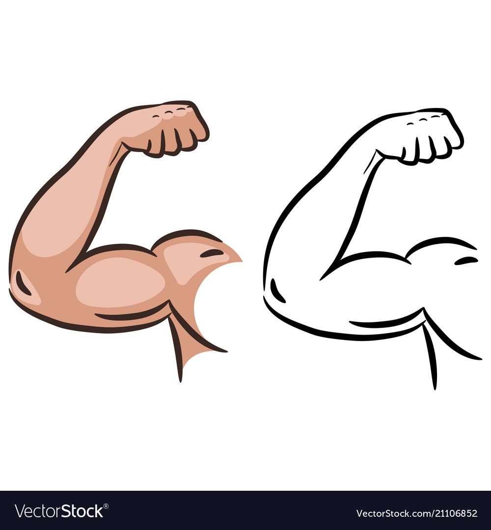 Strong Muscle Arm Sketch Line Vector Male Powerful Arm Flex Silhouette Download A Free Preview Or High Quality Adobe Strong Muscles Arms Fitness Logo Design